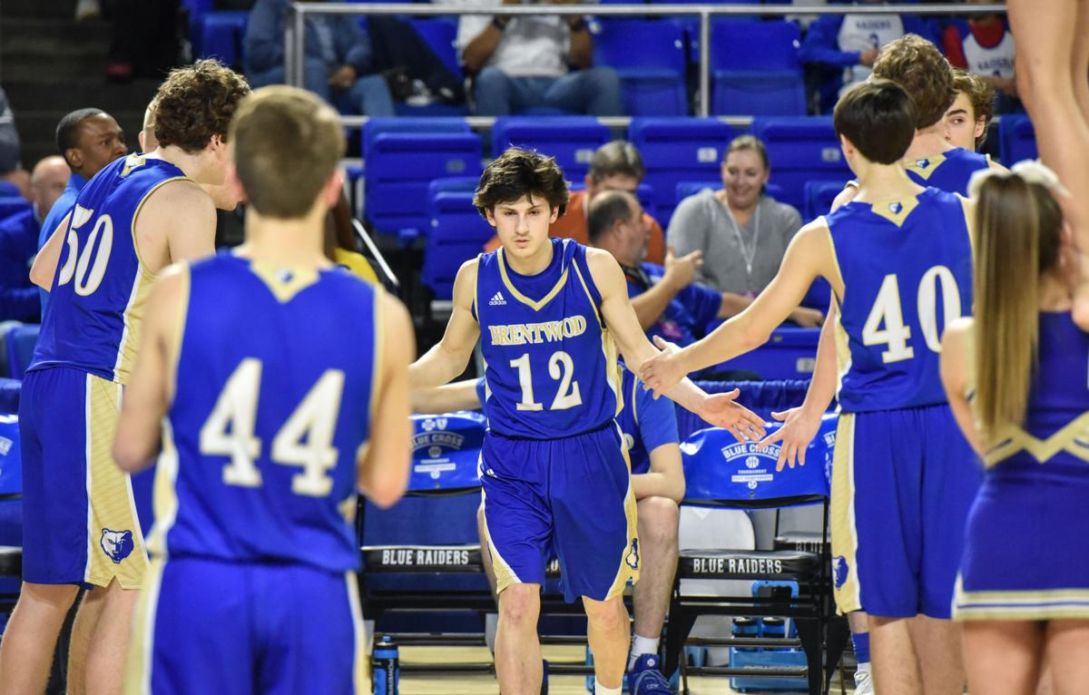 State Hoops – Brentwood boys vs. Oakland