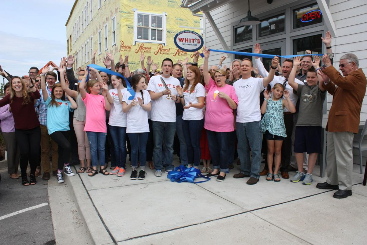 Whit's Frozen Custard celebrates ribbon-cutting with sweet success