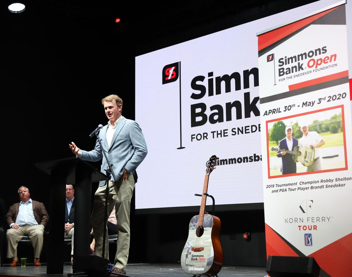 Simmons Bank Open for The Snedeker Foundation