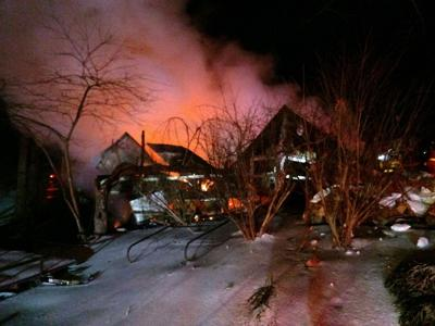 Williamson County house fire