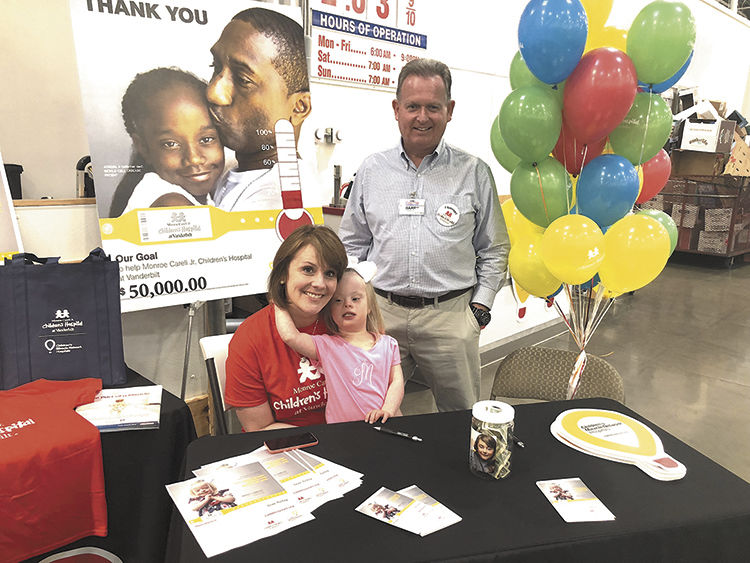 Costco raises funds through May to support Monroe Carell Jr