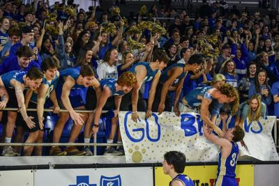 State Hoops – Brentwood boys vs. Oakland, Class AAA First Round