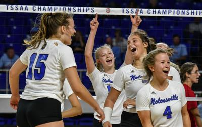 State Volleyball – Nolensville vs. Sullivan South, AA Quarterfinals .