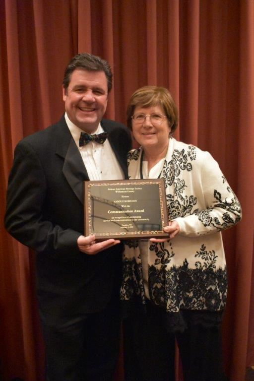 Herald Publisher Derby Jones and Senior Staff Writer Carole Robinson