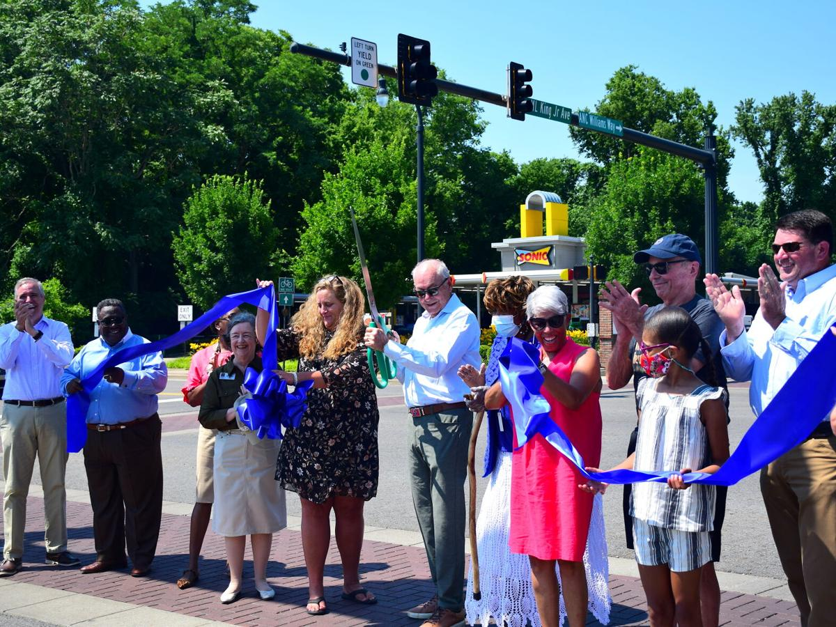 City celebrates street named after MLK and A.N.C. Williams