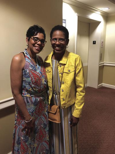 Tonia Carney-Scott (left) and Donna Carney