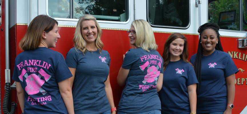 Franklin Fire Department Shirt Sales To Benefit Breast Cancer