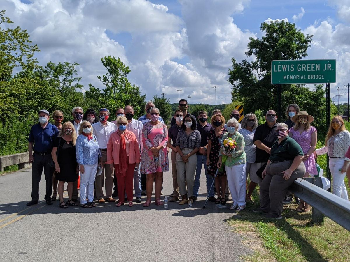 Lewis Green Jr. Memorial Bridge