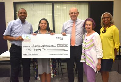 FHA Scholarship recipient