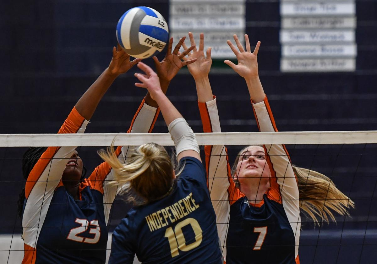 Volleyball – Summit vs. Independence, District 12-AAA Tournament