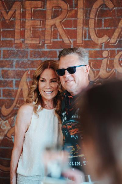 Kathie Lee Gifford with Brandt Wood