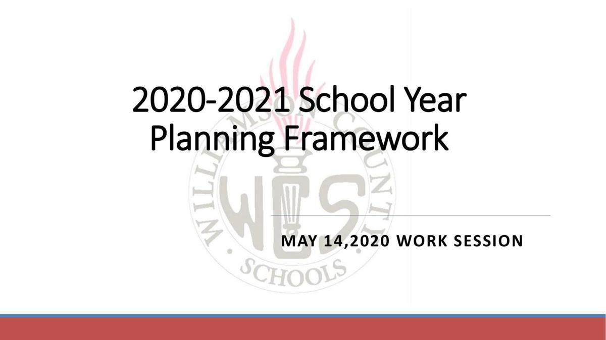 WCS 2020-2021 School Year Planning Framework