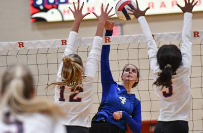 Volleyball – Brentwood at Ravenwood