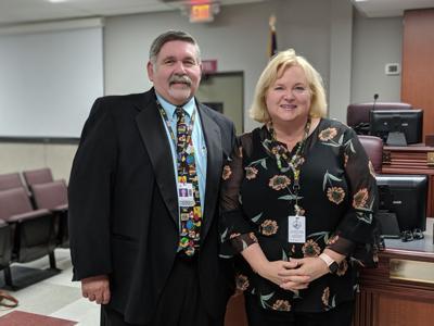 Gary Anderson and Nancy Garrett