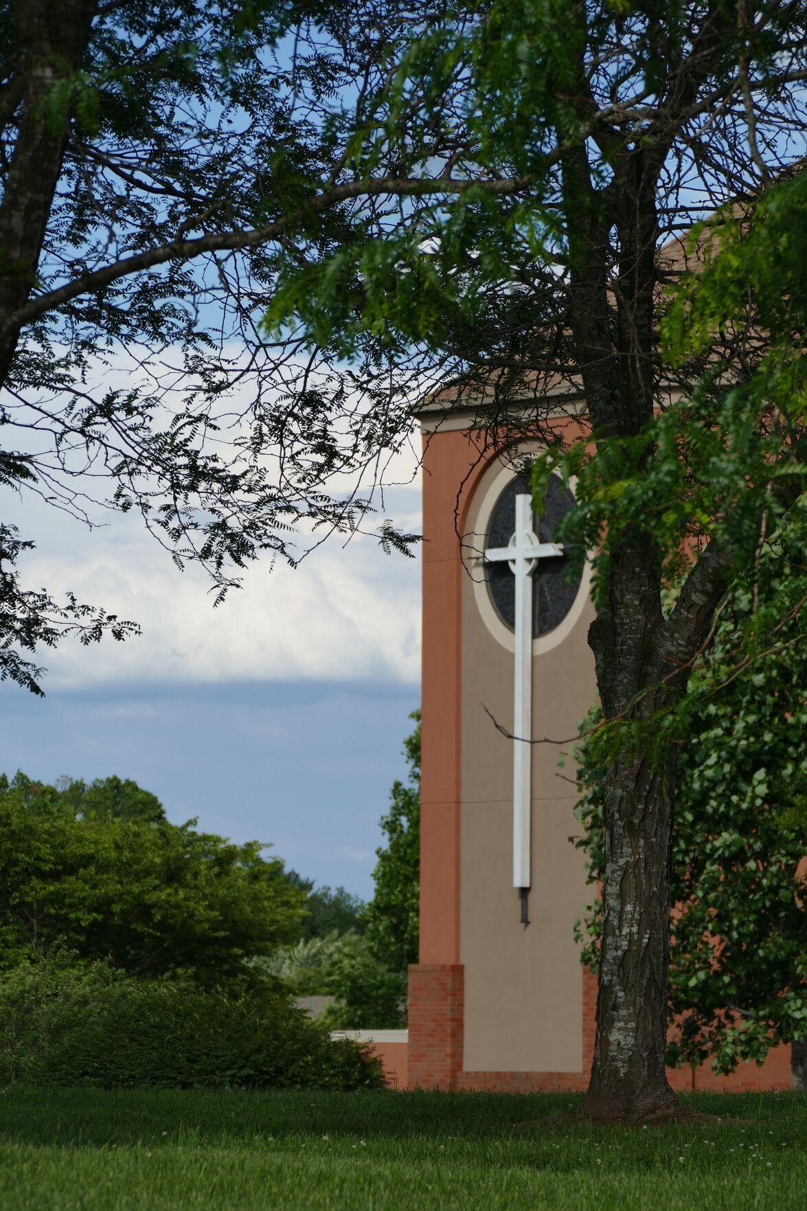 First Presbyterian Church Arboretum cross