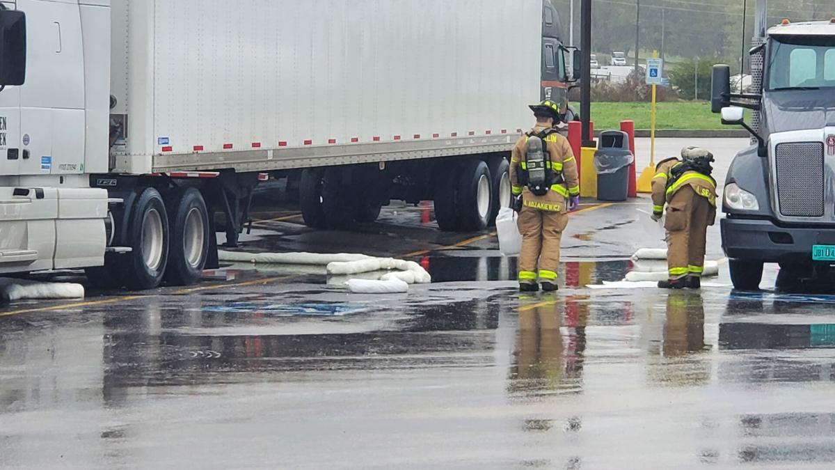 Diesel fuel spill
