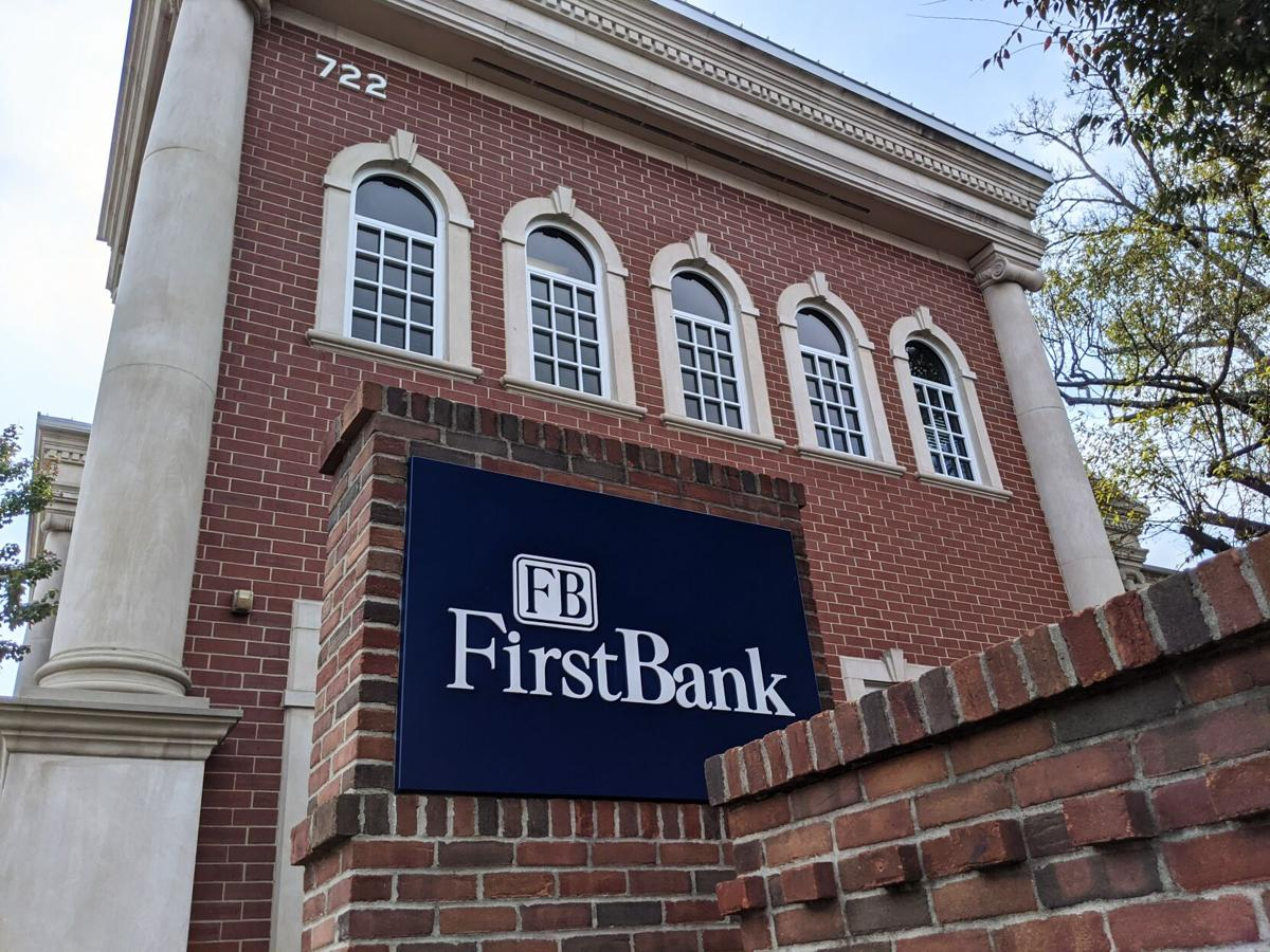 FirstBank sign downtown Franklin