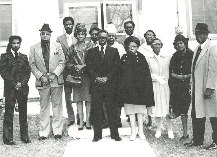 Mount Lebanon Missionary Baptist Church Deacons and Mother Board ca. 1949 or 1950