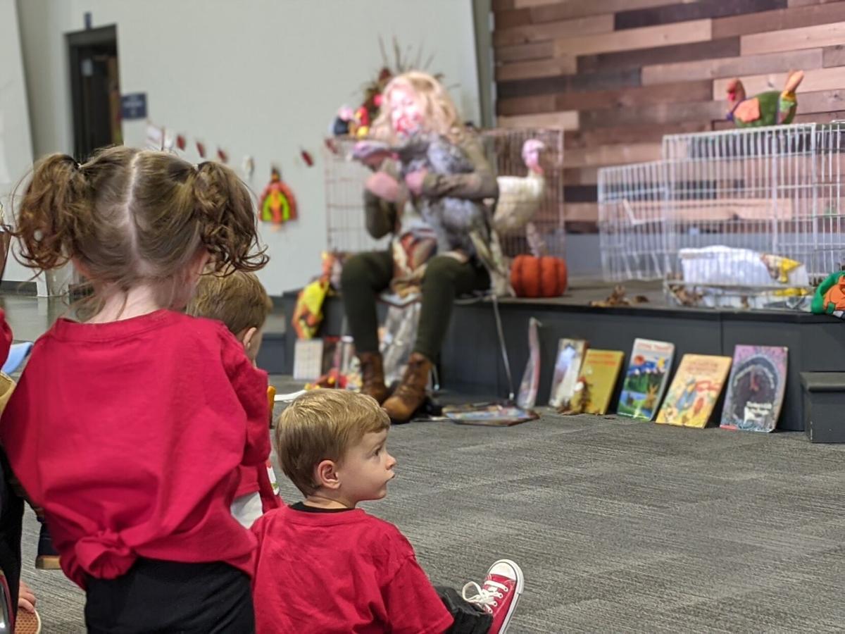 Laura Turner turkeys Berry's Chapel Preschool