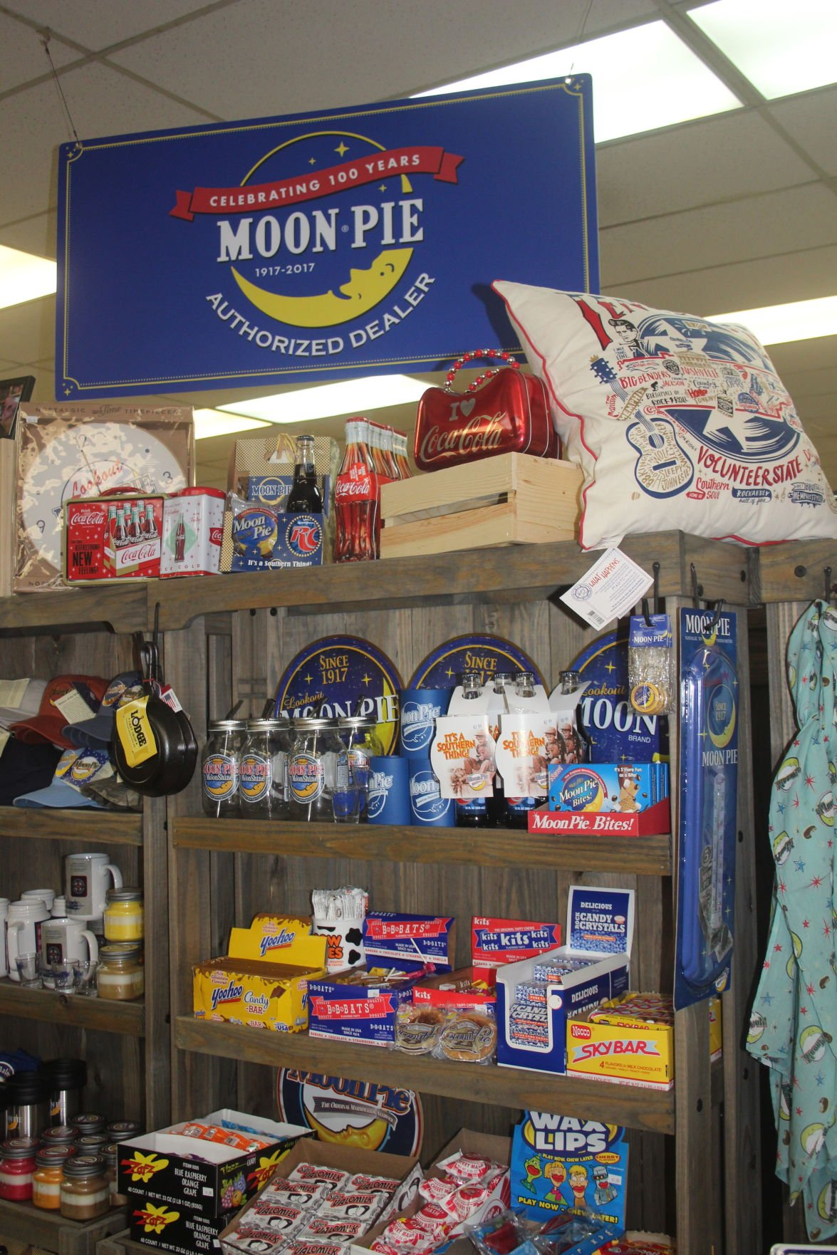 Moon Pies at Handy Hardware