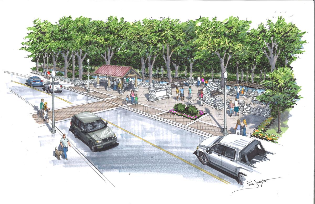 Franklin First Avenue Greenway Connector Rendering