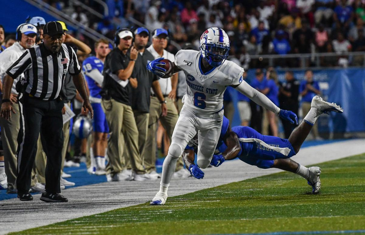 College Football – Tennessee State at Middle Tennessee State .