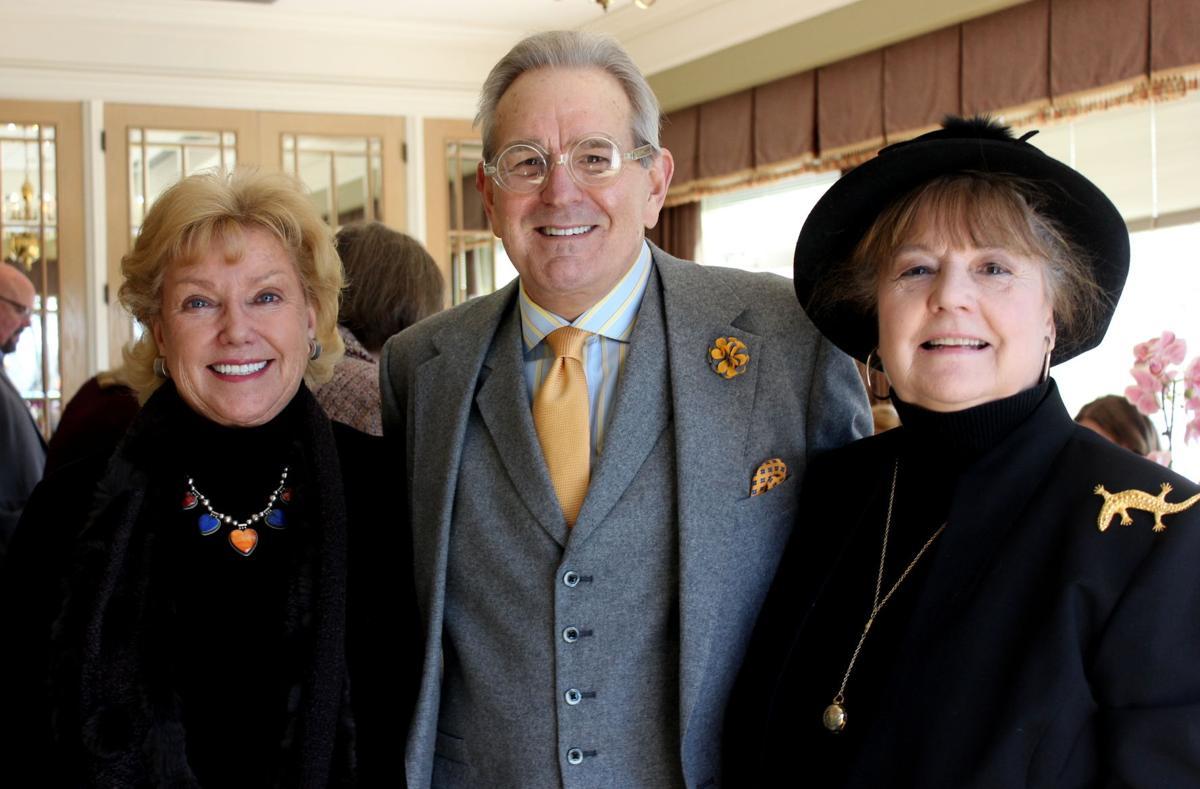 Marty Ligon, Ted Clayton, Patsy Weigel