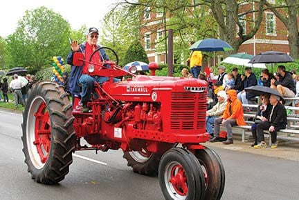 Tractors are still an important part of Brentwood life today.