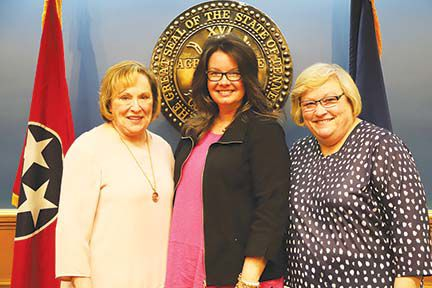 Brentwood City Commissioners Regina Smithson, Jill Burgin and Betsy Crossley served consecutively as the female mayors of Brentwood from 2013 to 2019.