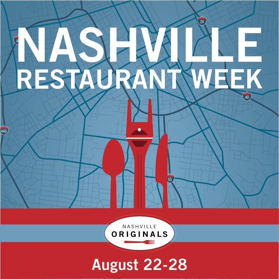 Nashville Restaurant Week poster