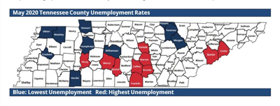 May 2020 Tennessee Unemployment