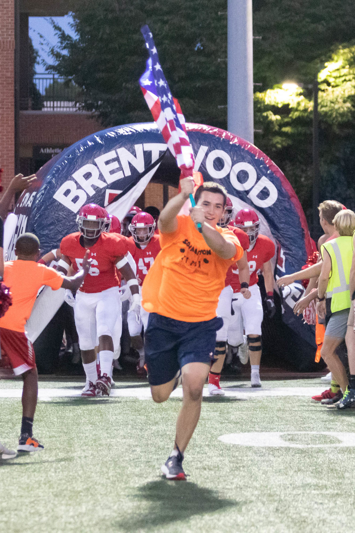 Football – Father Ryan at Brentwood Academy