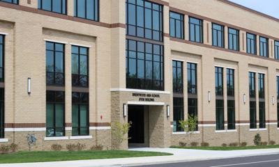 Brentwood High STEM building