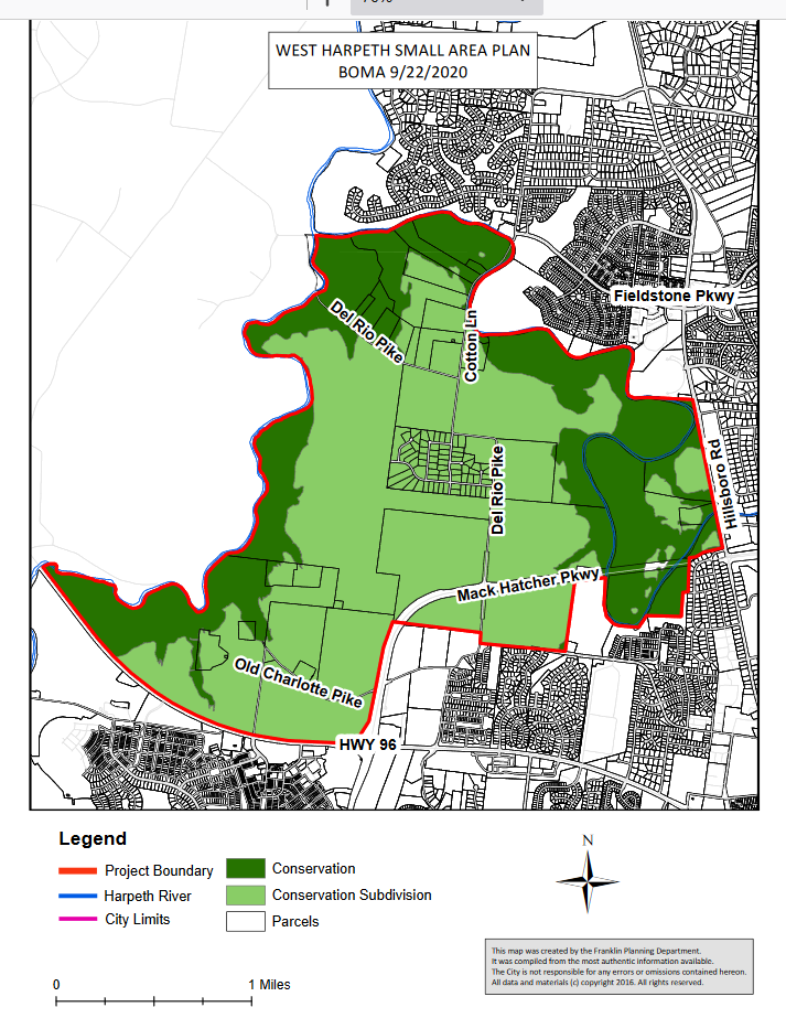 West Harpeth Small Area Use Plan