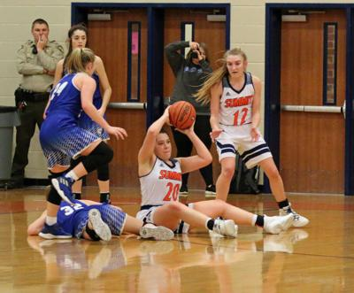 Hoops – Brentwood girls at Summit