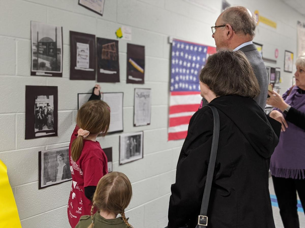 Franklin Elementary Suffrage Museum