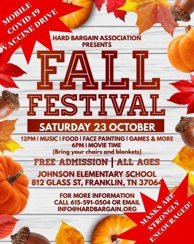 Hard Bargain fall festival