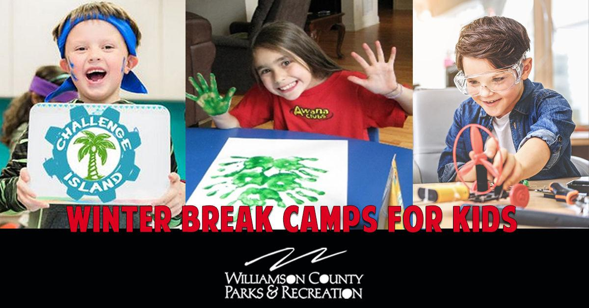 WCPR Winter Break Camps for Kids