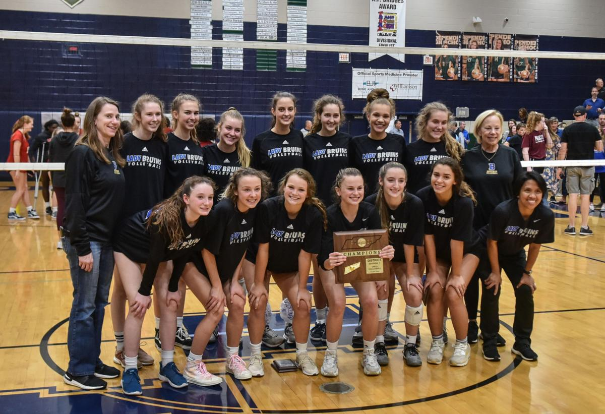 Volleyball – Brentwood vs. Ravenwood, District 12-AAA Championship
