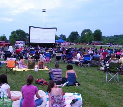 Outdoor Movie Night at Eastern Flank Battlefield