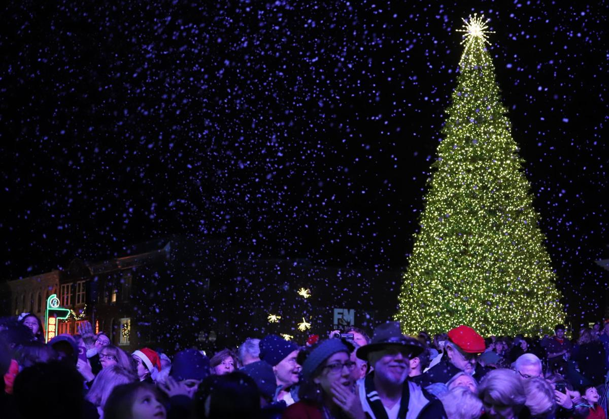 Franklin Christmas Tree Lighting 2019
