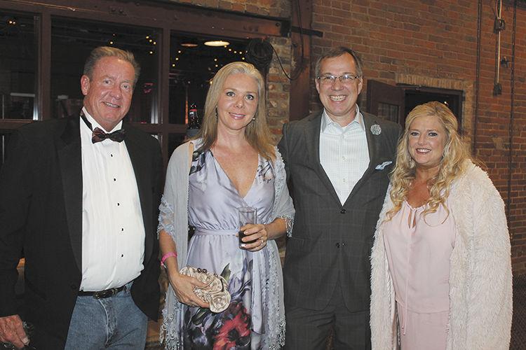 Rod Pewitt, Fiona Lipscomb, Steve Nieman and Stacey Watson