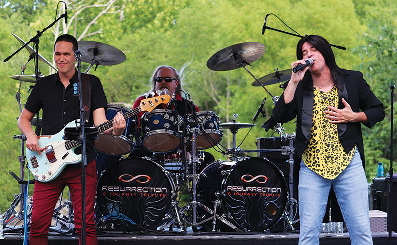 Resurrection: A Journey Tribute  will perform at the Carnton Sunset Concert Series on July 28.