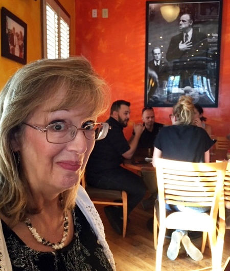 Teri Beck discovered Fried Goat Buttons on Menu at MAFIAOZA'S