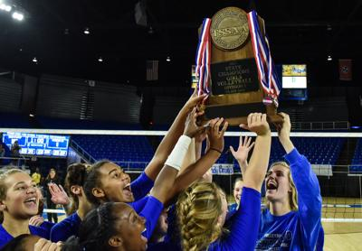 State Championship Volleyball – Brentwood vs. Ravenwood