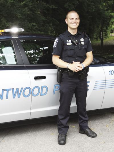 Brentwood Police Officer Billy Townsend