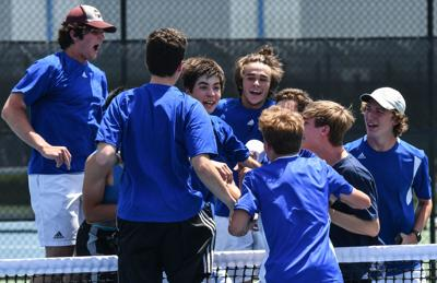 State Tennis – Brentwood boys vs. Murfreesboro Central, Large Class Championship