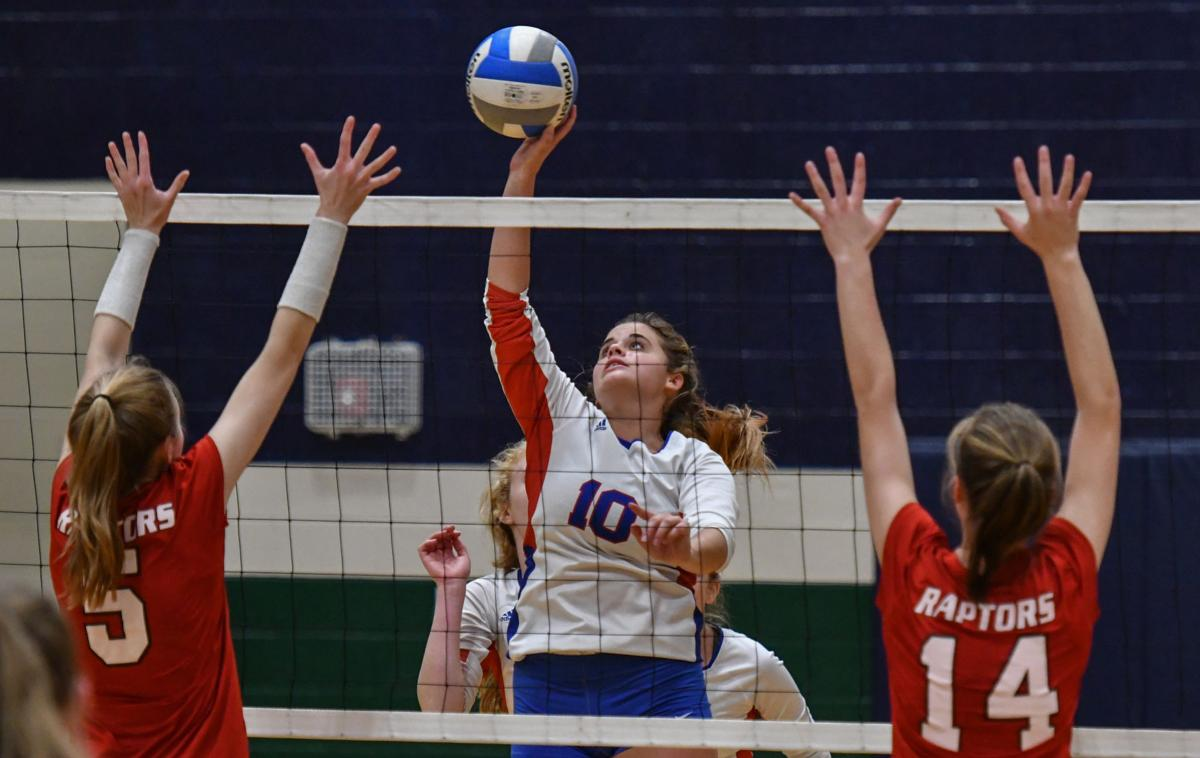 Volleyball – Page vs. Ravenwood, District 12-AAA Semifinal
