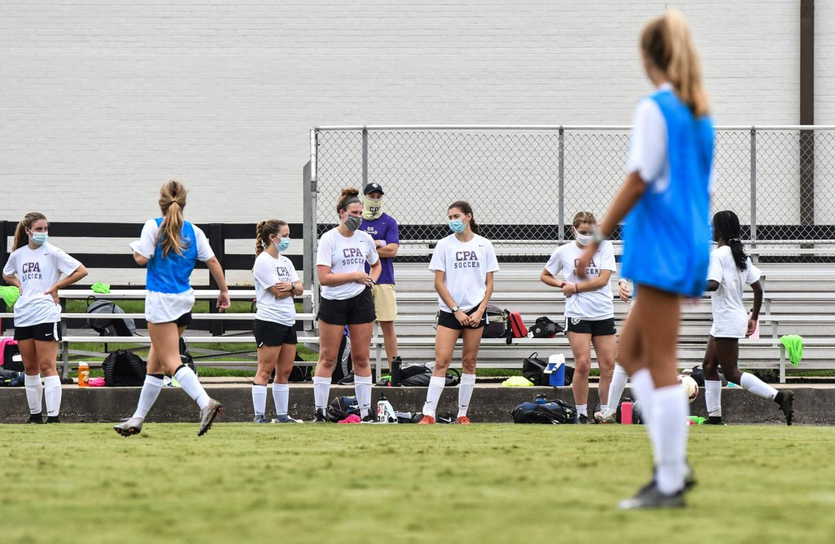 Christ Presbyterian Academy Girls Soccer Practice