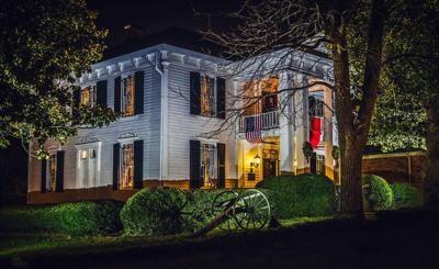 Lotz House at Night